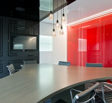 Boardroom, reception and office partitions