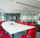 Boardroom, reception and office partitions image 3